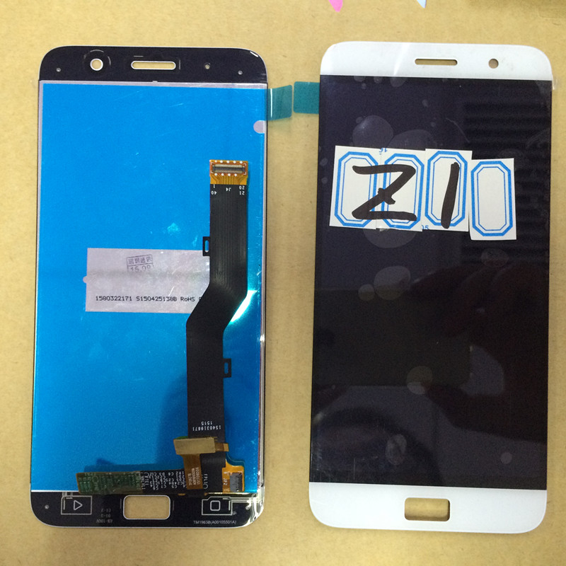 Lenovo ZUK Z1 LCD Display+Touch Screen Original Digitizer Glass Panel Replacement For Lenovo Z1 1920X1080 5.5'' Phone