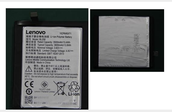 3500mAh 3.8V Lenovo BL258 Lithium Ion Replacement Mobile Cell Phone Battery for Lenovo X3 Smartphone