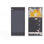 WCDMA XIAOMI 3 Mi3 M3 LCD + Touch Screen with Frame